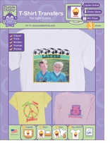 Purple Chimp T-Shirt Transfers For Light Color