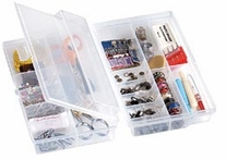 Quick Flip Translucent Storage Box