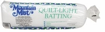 Quilt-Light Polyester Batting Twin Size