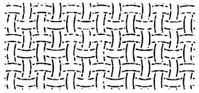 Quilt Stencils Basket Weave - Click to enlarge