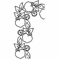 Quilt Stencils By Patricia Ritter Apple Corner 4in