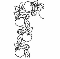 Quilt Stencils By Patricia Ritter Apple Corner 5in