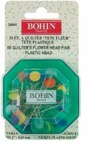 Quilter's Flower Head Pins 2in