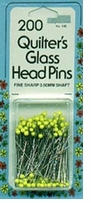 Quilter's Glasshead Pins