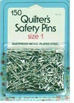 Quilter's Safety Pins Size 1