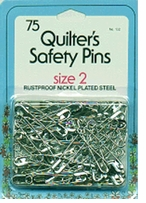 Quilter's Safety Pins Size 2