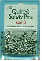 Quilter's Safety Pins Size 3
