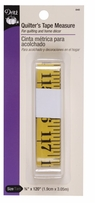 Quilter's Tape Measure Yellow
