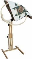 Quilter's Wonder Hoop Floor Stand 18in Hoop - Click to enlarge