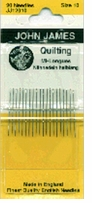 Quilting, Betweens Hand Needles Size 10