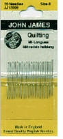 Quilting, Betweens Hand Needles Size 8