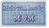 Quilting Labels Iron-On Lovelabels Made With Love By Mom