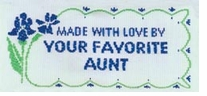 Quilting Labels Made With Love By Your Favorite Aunt