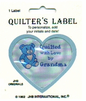 Quilting Labels Quilted With Love By Grandma