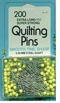 Quilting Pins Size 28 200/Pkg