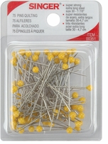 Quilting Pins Yellow Size 30