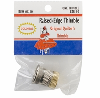 Raised-Edge Thimble Size 10