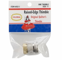 Raised-Edge Thimble Size 11
