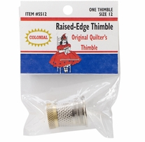 Raised-Edge Thimble Size 12
