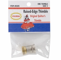 Raised-Edge Thimble Size 5