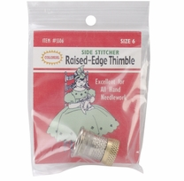 Raised-Edge Thimble Size 6