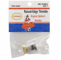 Raised-Edge Thimble Size 7