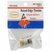 Raised-Edge Thimble Size 8