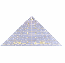Reverse-A-Ruler Triangle 45 Degrees