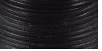 Round Lace Black 1mm 25 yds