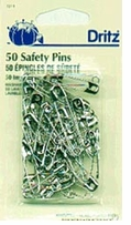 Safety Pins Nickel 50 Assorted Sizes