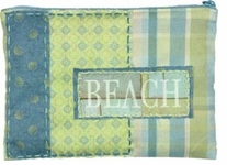 Sea Glass Zipper Pouch Embroidery Kit