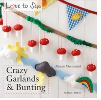 Search Press Books Crazy Garlands And Bunting