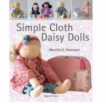 Search Press Books Simple Cloth Daisy Dolls