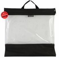 Seeyourstuff Clear Storage Bags Black 16inx16in