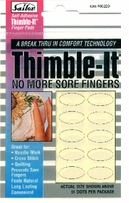 Self-Adhesive Thimble-It Finger Pads