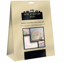 Sew & Sew On Tea Cozy Kit Sweet Cottage