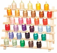 Sewing Thread Racks Cone Thread Rack 33 Cone Capacity