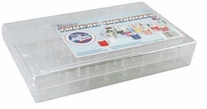 Sewing Thread Storage Clear Plastic Thread Organizer