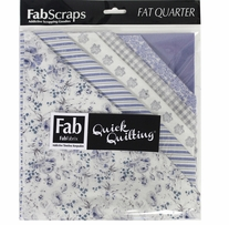 "Shabbylicious Fat Quarters Blue 18""X21"" 6pcs"