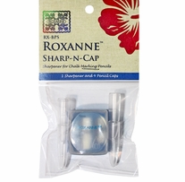 Sharp-N-Cap Pencil Sharpener & 4 Pencil Caps