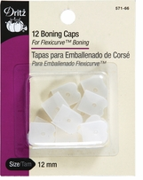 Silicone Boning Caps Sew-In Clear
