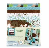 Simple Quilt Kits Wild Flower Random Quilt