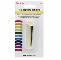 Simplicity Bias Tape Machine Tip 3/8in Single Fold