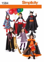 Simplicity Child's Costumes 3, 4, 5, 6, 7, 8 #1584A