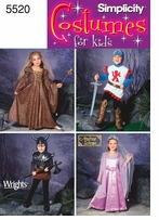Simplicity Child's Costumes # 5520A