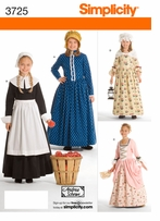 Simplicity Childs and Girls Costumes #3725HH