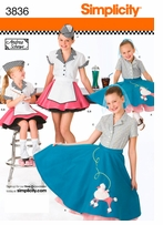 Simplicity Childs and Girls Costumes #3836K5