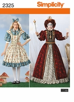 Simplicity Crafts Costumes #2325HH