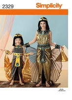 Simplicity Crafts Costumes #2329HH