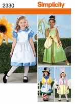 Simplicity Crafts Costumes #2330A